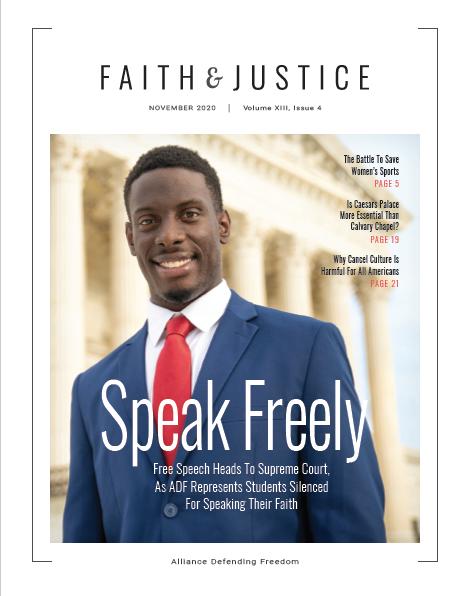 Faith & Justice - November 2020
