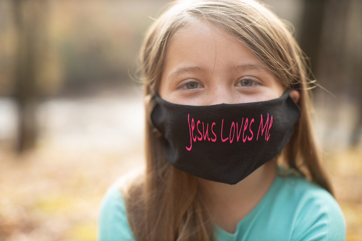 Jesus Loves Me Mask - Faith & Justice