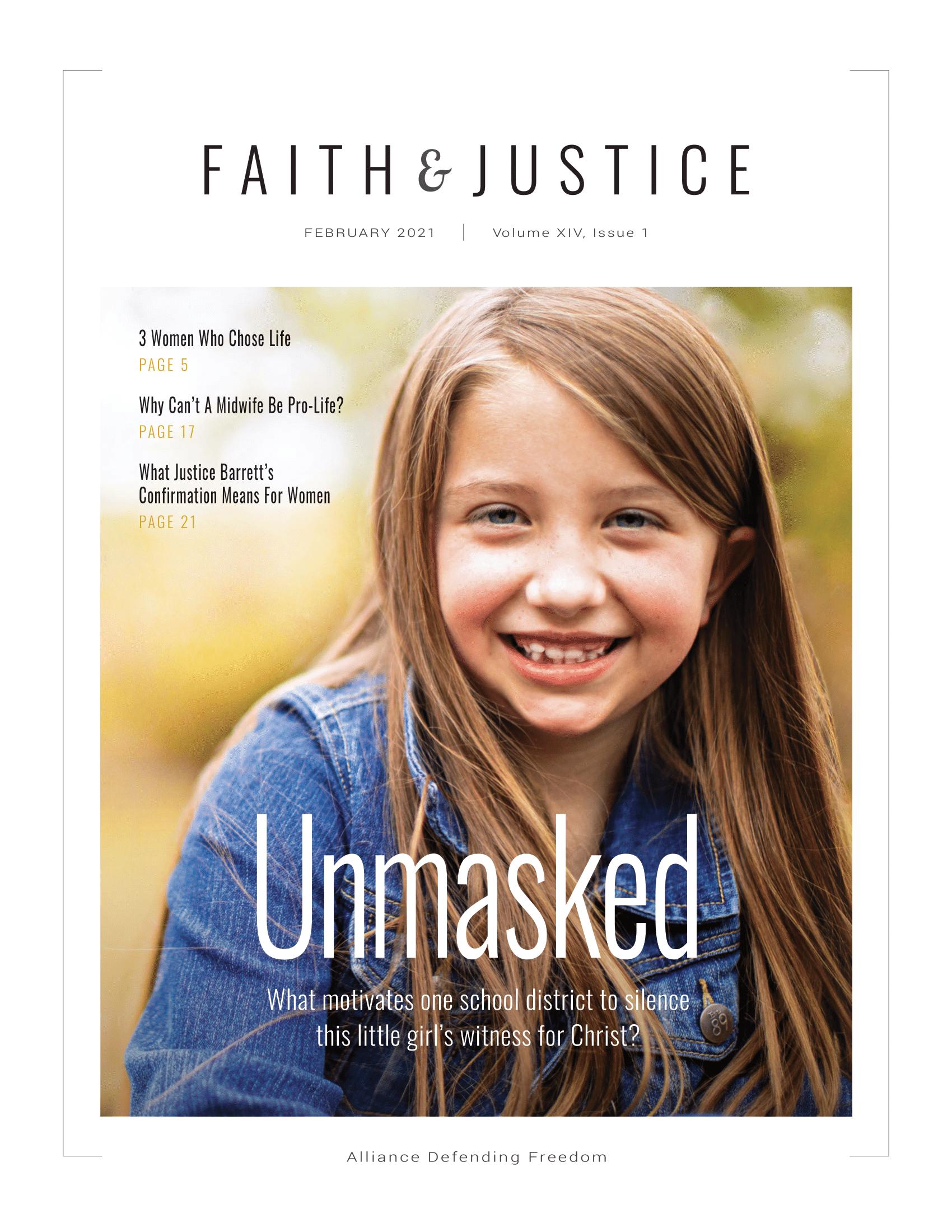 Faith & Justice - February 2021