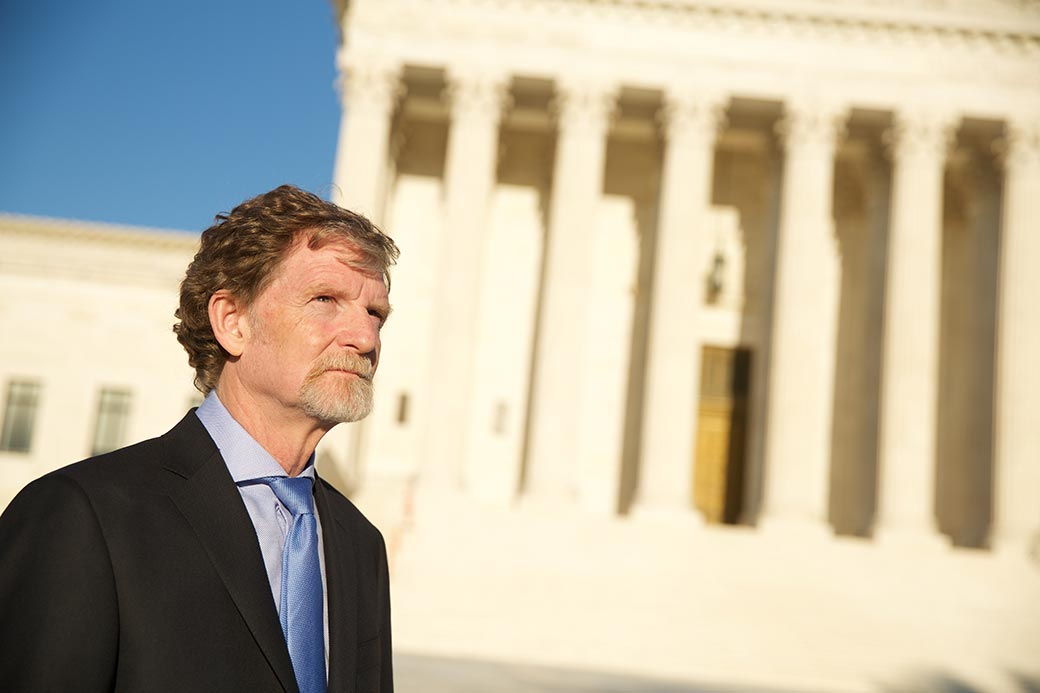 Jack Phillips at the Supreme Court of the United States