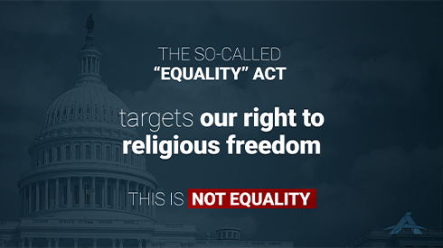 Equality Act on Religious Freedom
