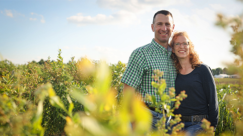 Steve and Bridget Tennes of Country Mill Farms