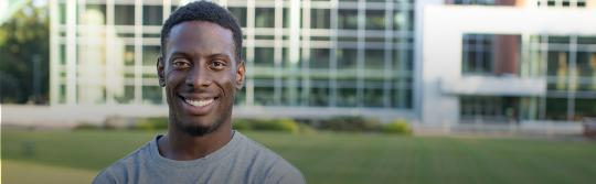 ADF client Chike Uzuegbunam on college campus